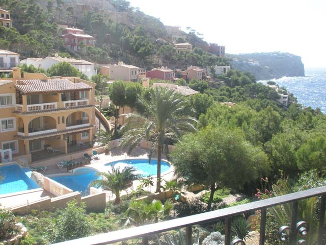 Apartment for sale with sea views in Andratx, Mallorca