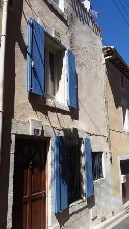 Pretty Furnished Village House With 75 m2 Living Space, 2 Bedrooms And Small Courtyard.