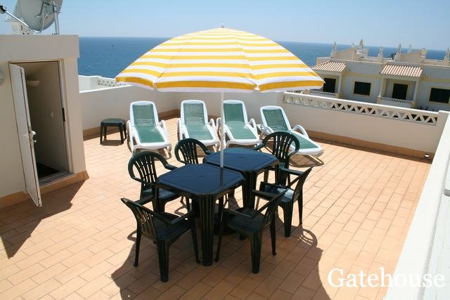 Benagil Townhouse With Panoramic Sea views For Sale in Algarve