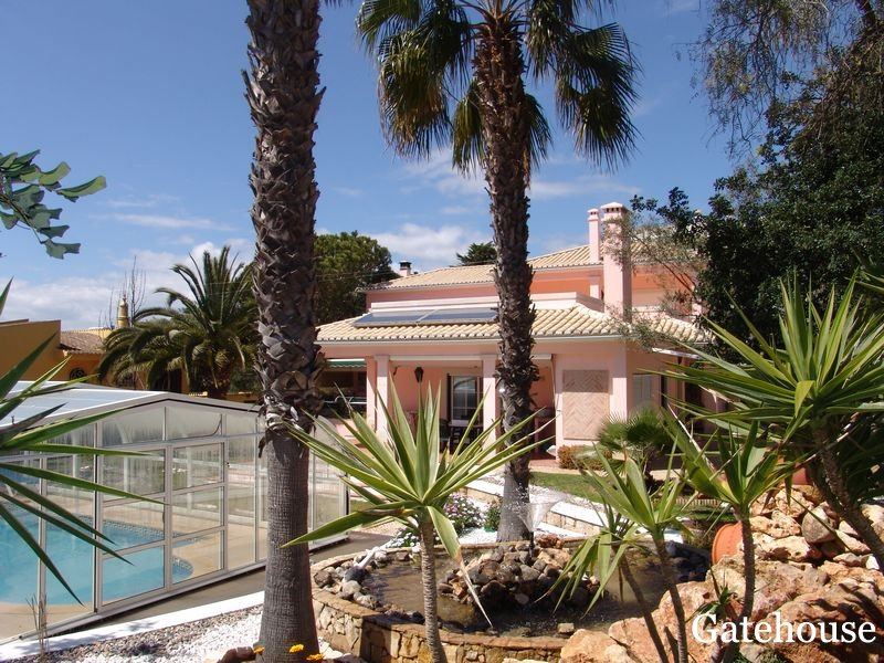 Portimao Luxury Villa with Heated Pool For Sale in Algarve