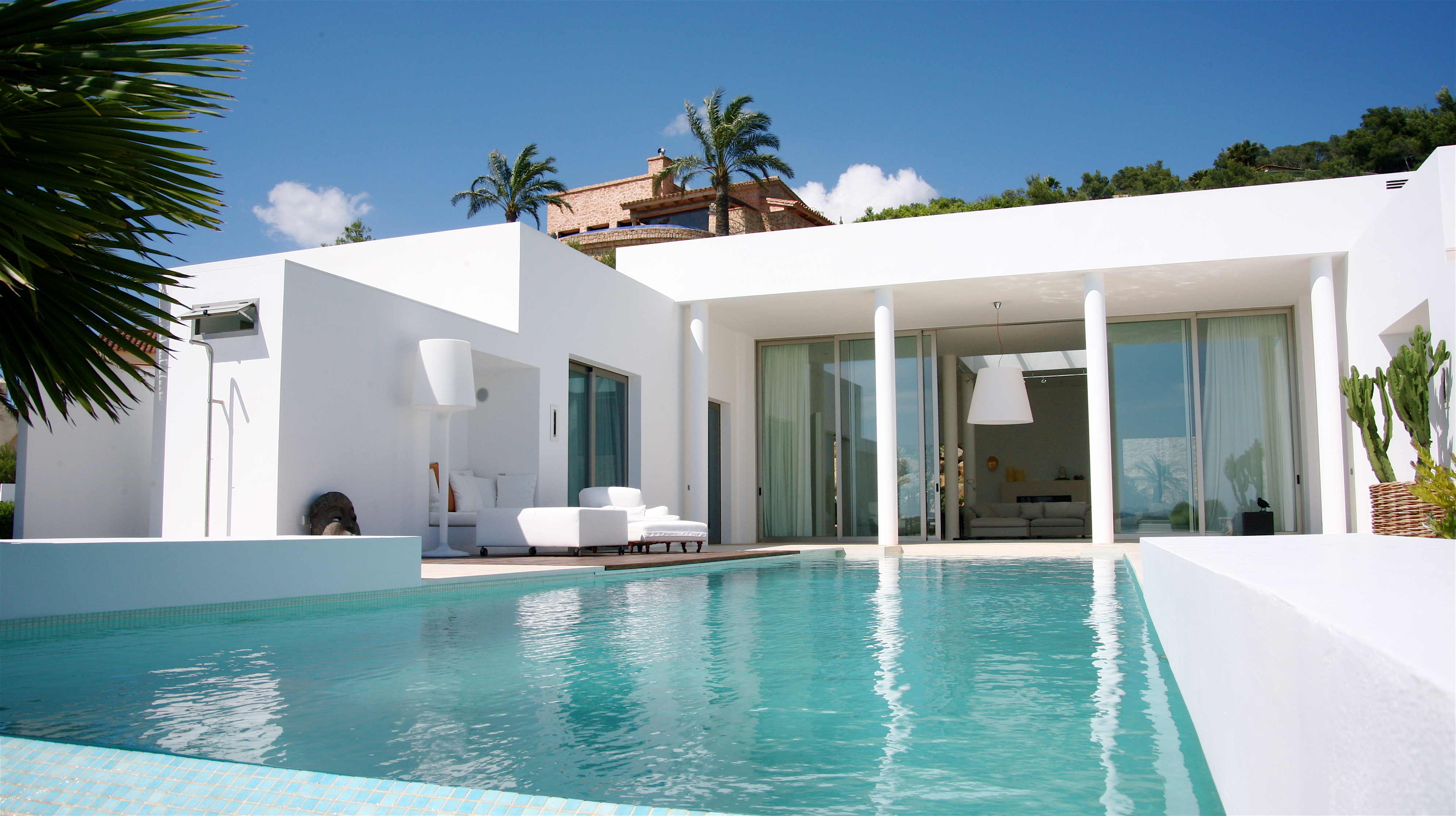 Ibiza luxury house for sale overlooking Dalt Vila Formentera and Ibiza town with sea views