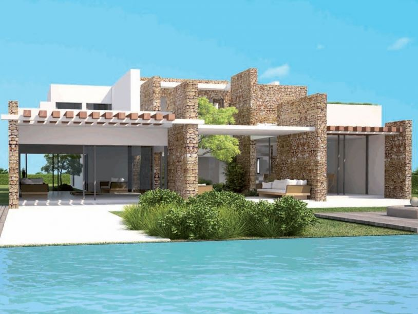 Brand new villas in exclusive gated community Cala Conta with sea views & sunsets
