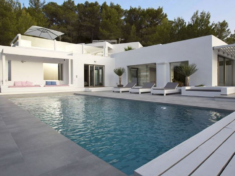Luxury hilltop villa with breathtaking sea views in Cala Tarida