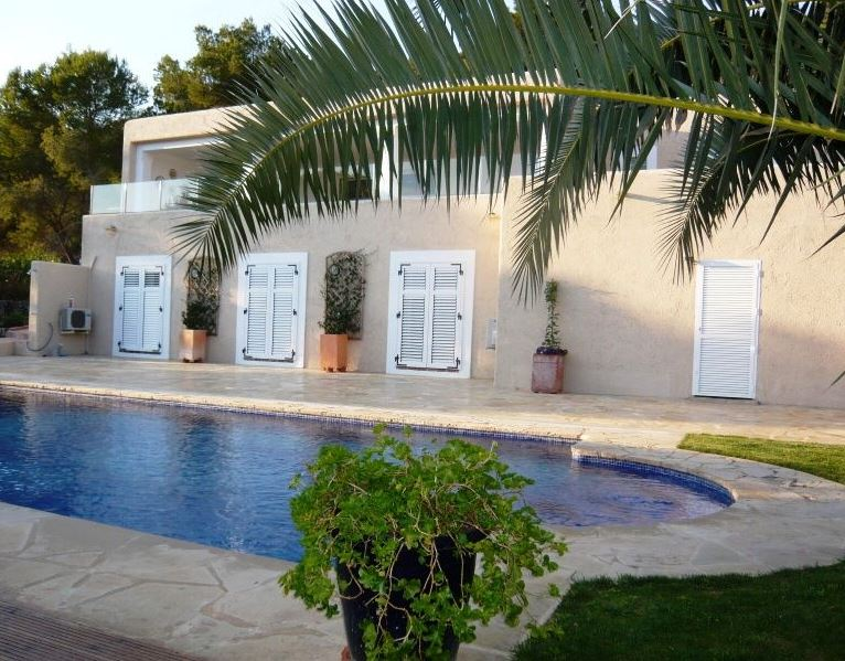 Beautiful sea view villa on San Jose coast with private pool & garden